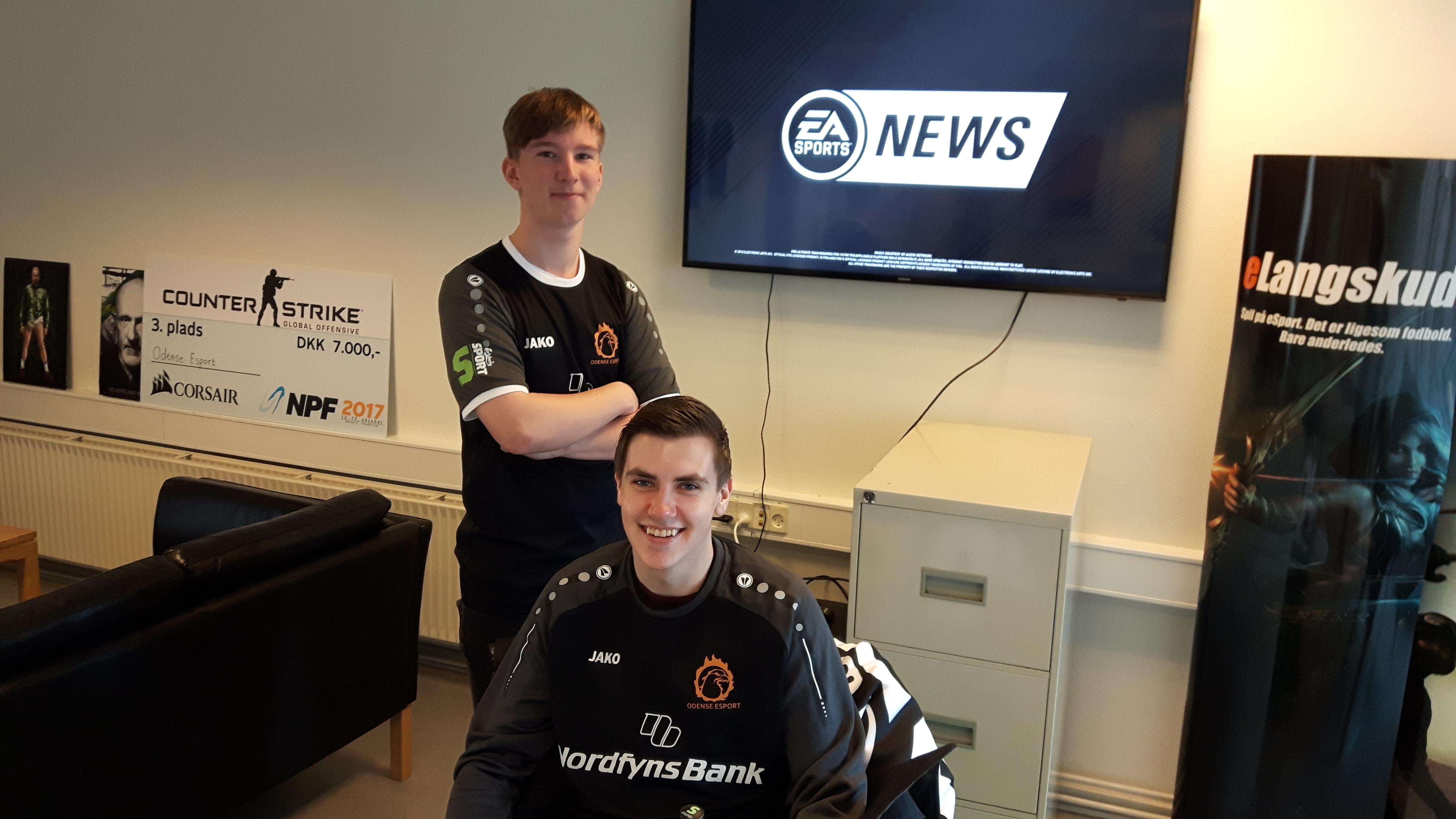 """Odense Esport inviteret til at spille kvalifikation til """"FIFA eClub World Cup"""""""