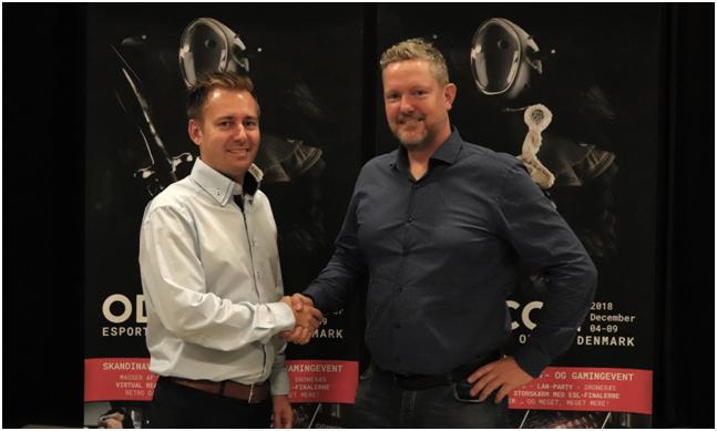Odense Esport som samarbejdspartnere til ODINCON 2018