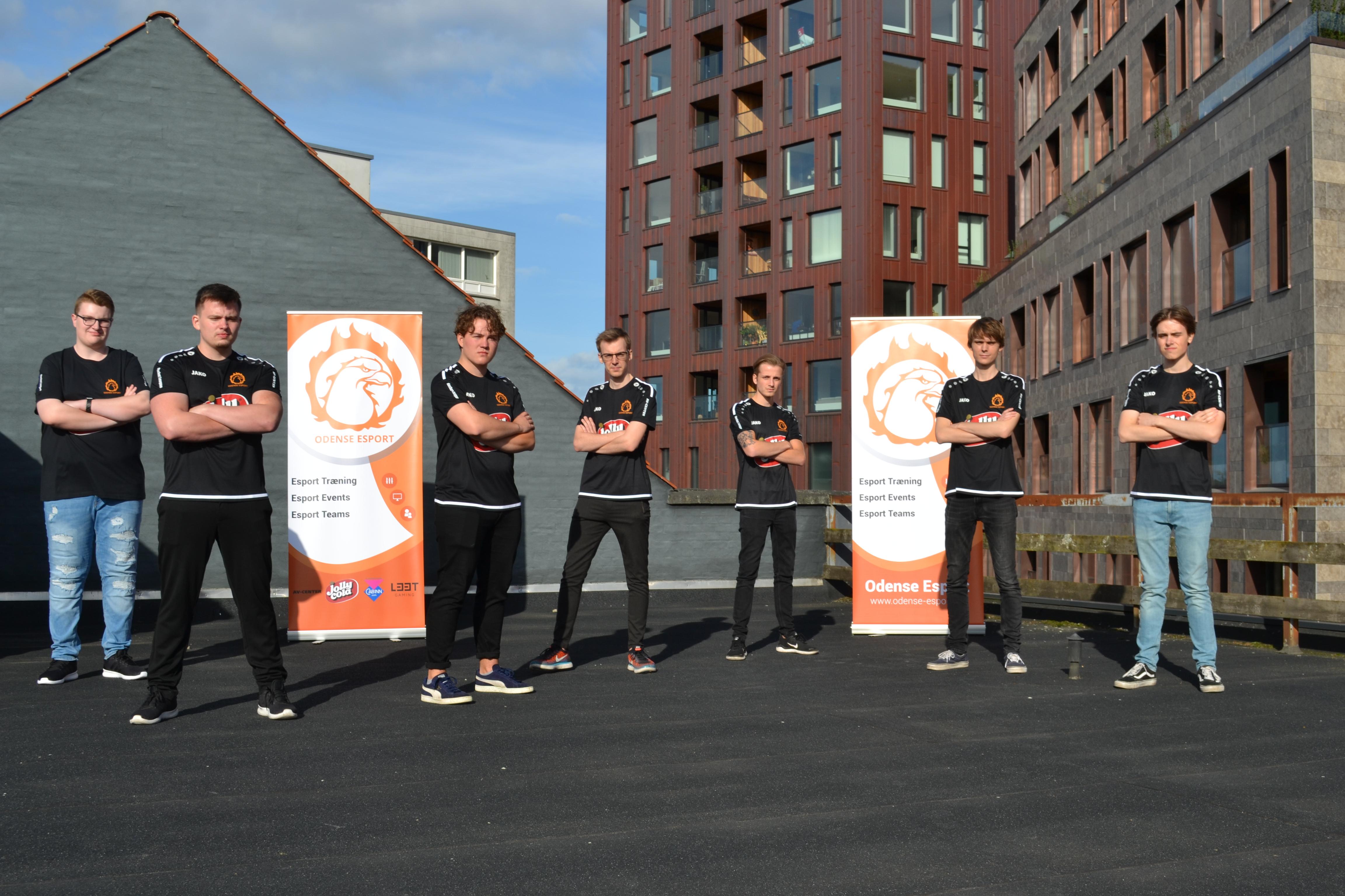 Odense Esport præsenterer Rocket League teams