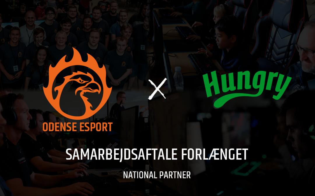 Odense Esport og Hungry forlænger samarbejdet