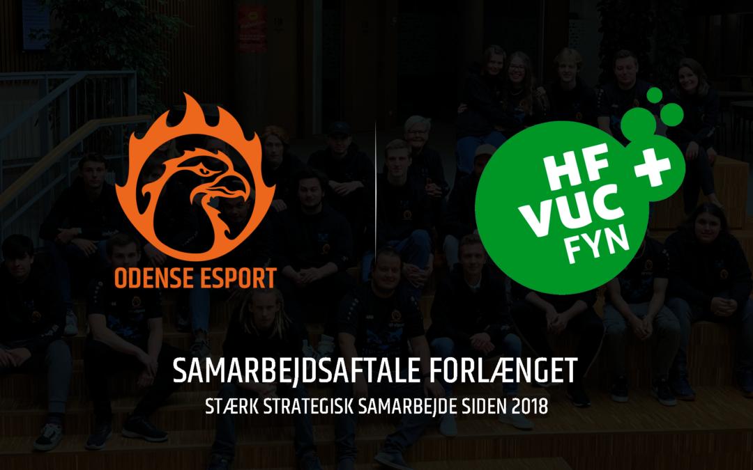HF & VUC FYN og Odense Esport forlænger samarbejdet