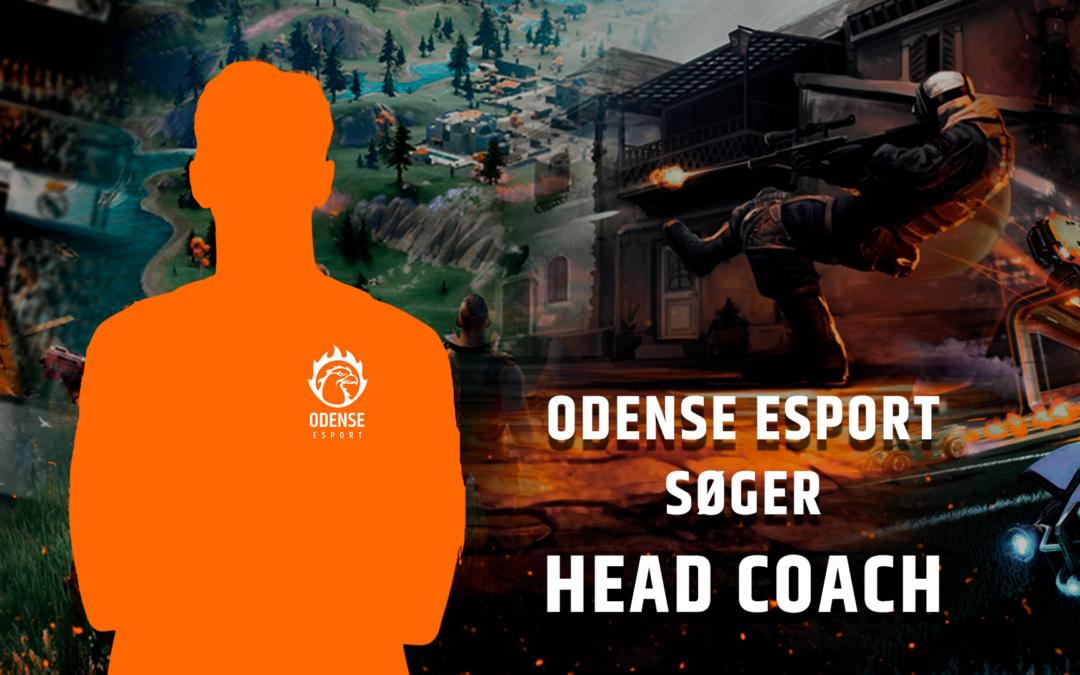 Odense Esport søger Head Coach